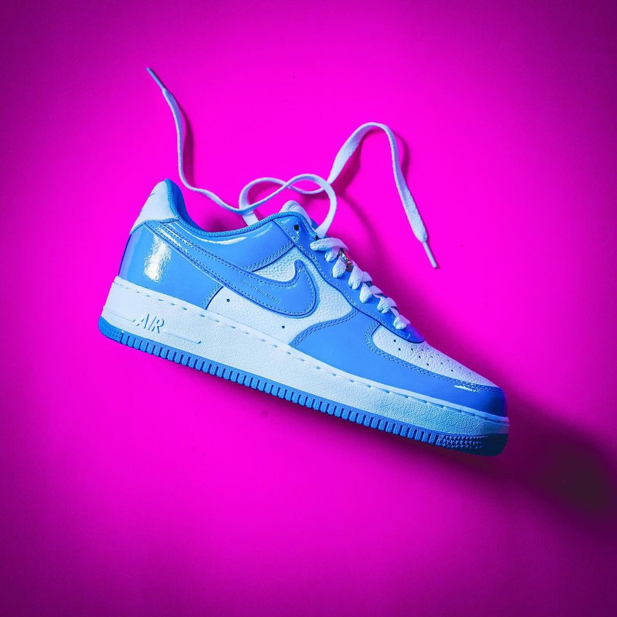 Nike Air Force 1 ID UNC indy (1)