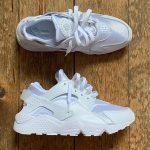 Nike Air Huarache 'Triple White' Pure Platinum 2021