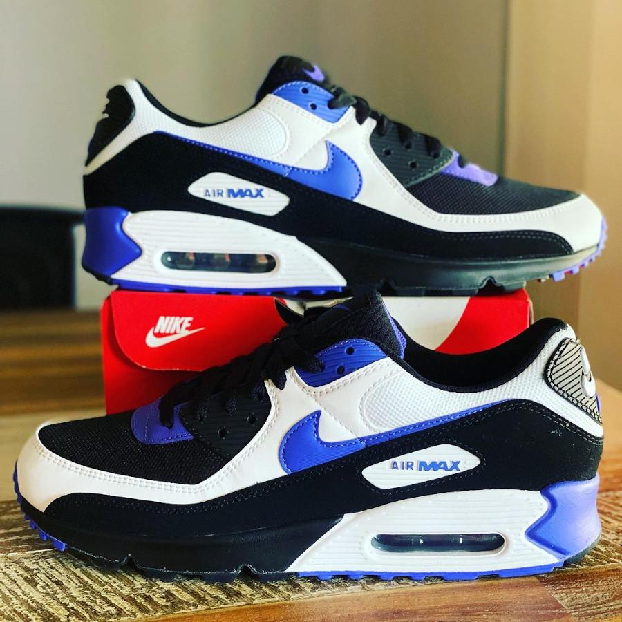 Nike Air Max 3 noire blanche et pourpre (2)