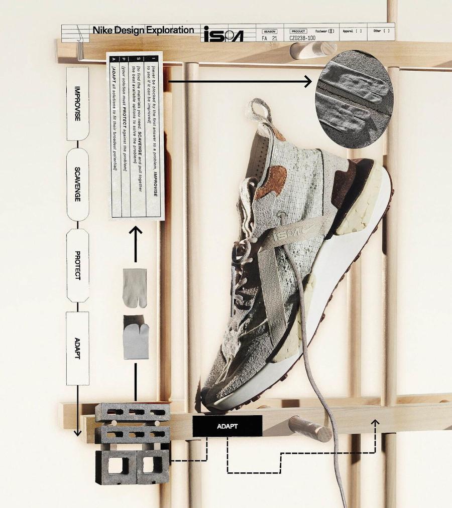 Nike Drifter Split Ispa NTRL Natural Cork Hemp