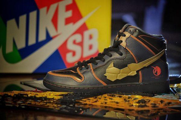 Nike Dunk High Pro SB Marida Cruz et Riddhe Marcenas (4)