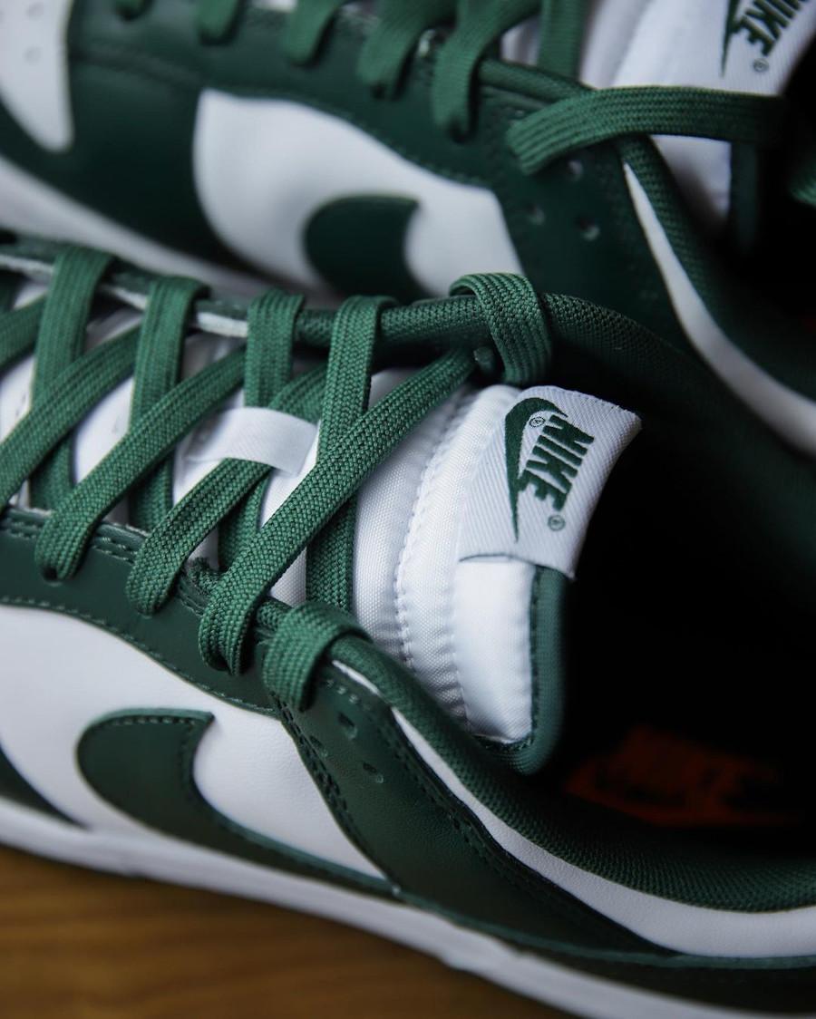 Nike Dunk Low OG blanche et verte (4)