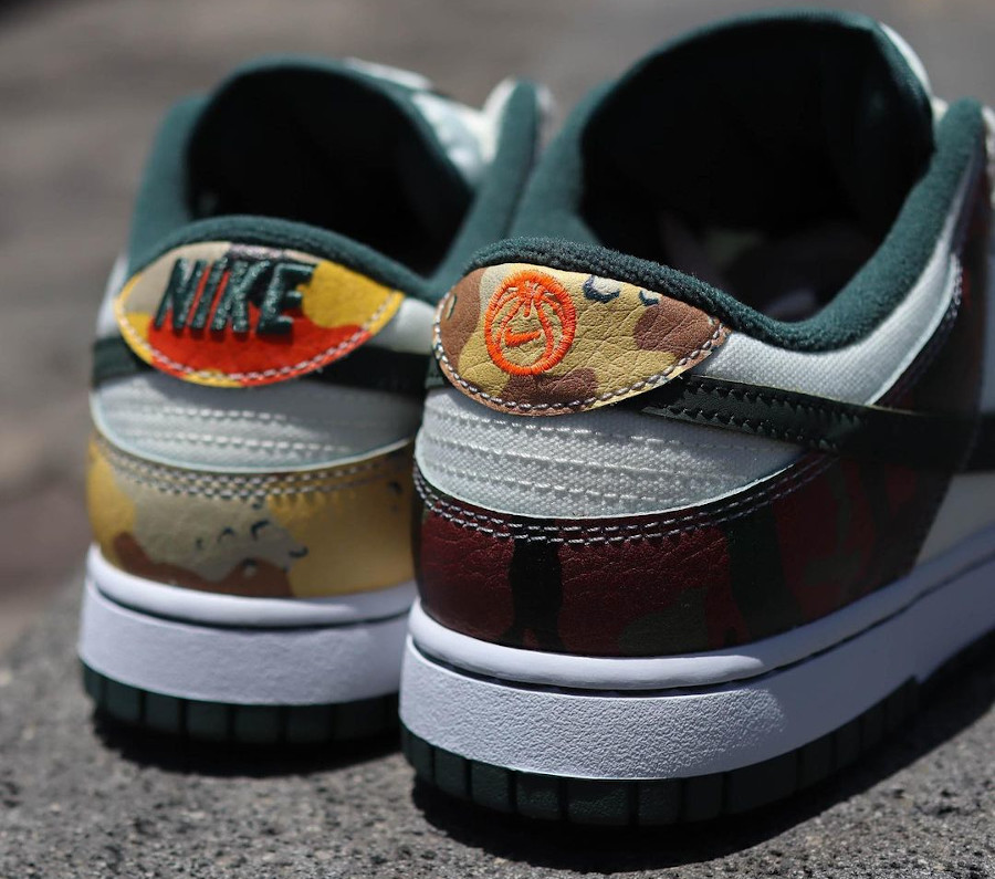 Nike Dunk Low Special Edition blanche militaire 2021 (3)