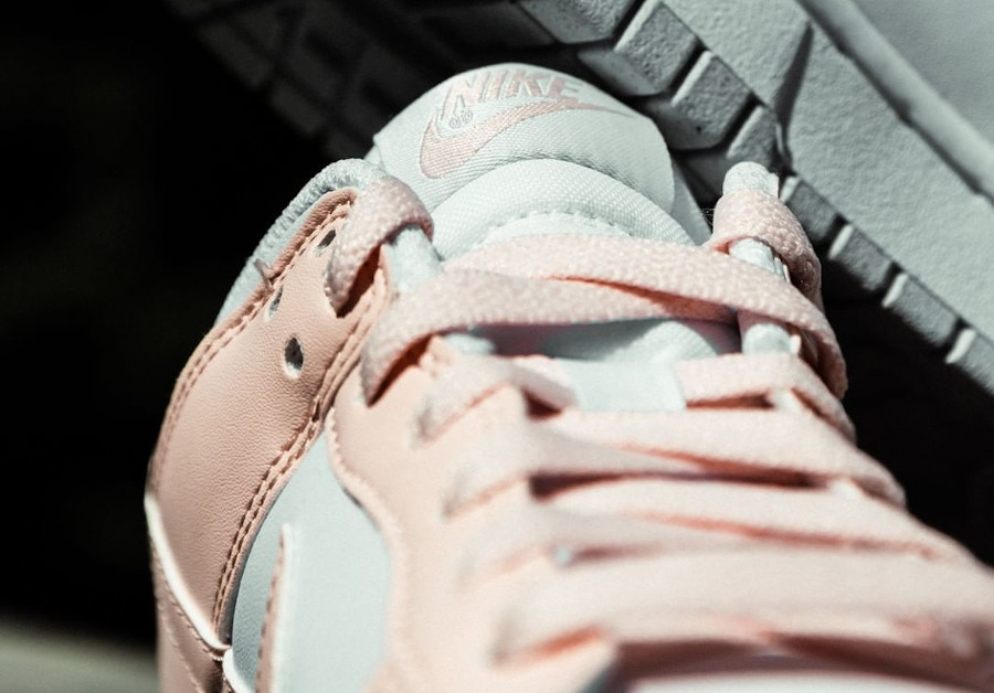 Nike Dunk Low move to zero blanche et rose pastel (4)