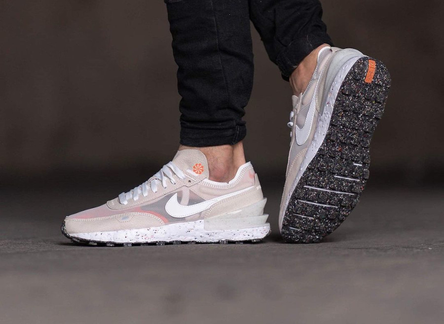Nike Waffle One Crater Cream pas cher