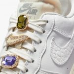 Nike Wmns AF1 Low Premium 'Jewels Bling' White Sea Glass 2021