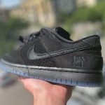 Undefeated x Nike Dunk Low SP '5 on It' Black Pony Hair
