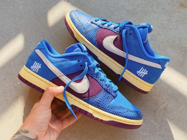 Nike x Undefeated Dunk Low SP 5 On It DunkVsAF1