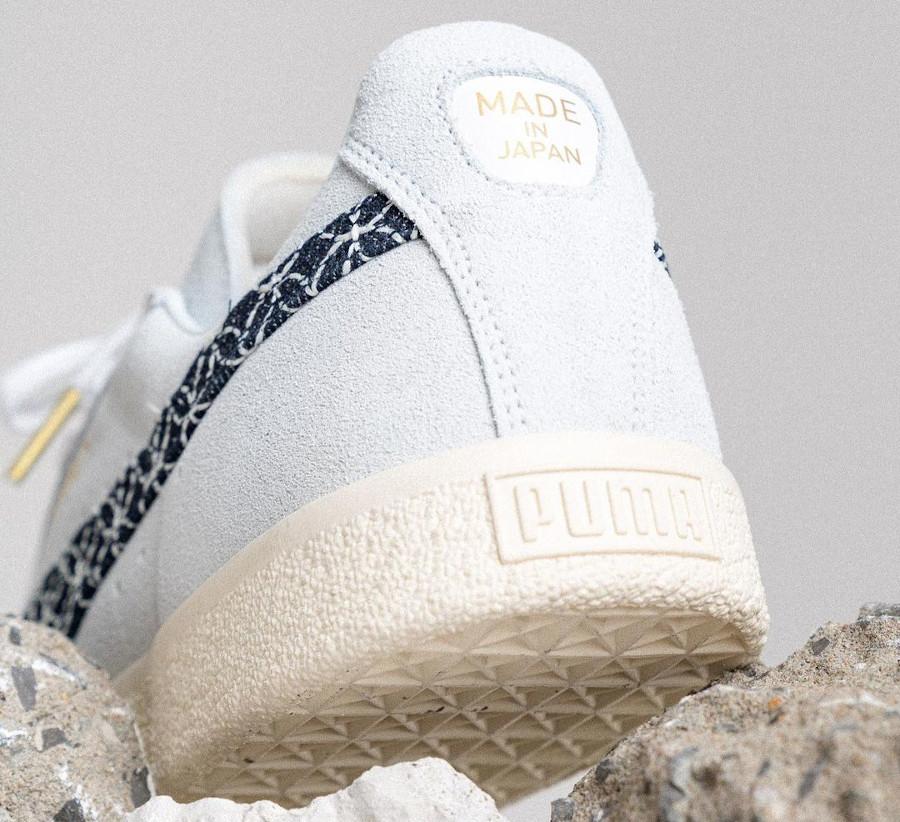 Puma Suede en daim gris fabriquée en au Japon 381166-01 (1)