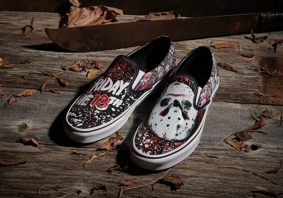 Vans Slip On Friday the 13th