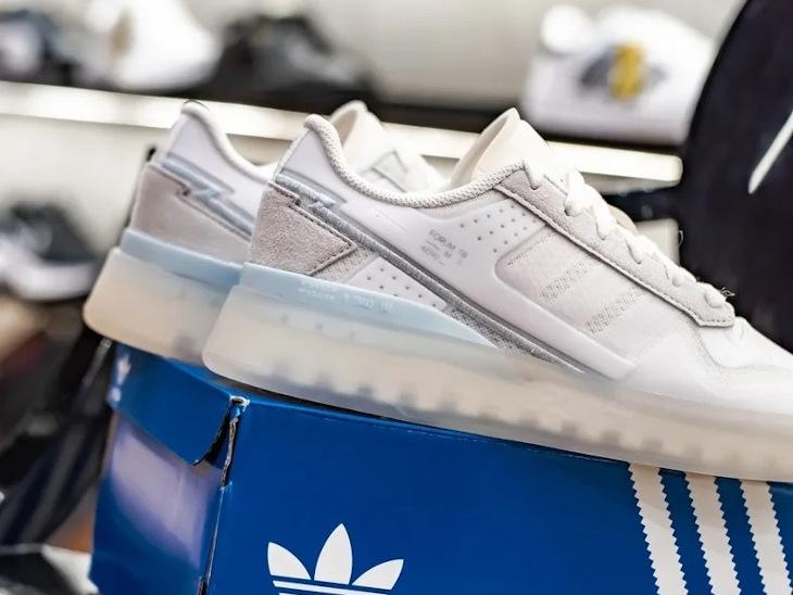 Adidas Forum basse TB blanche et transparente (1)