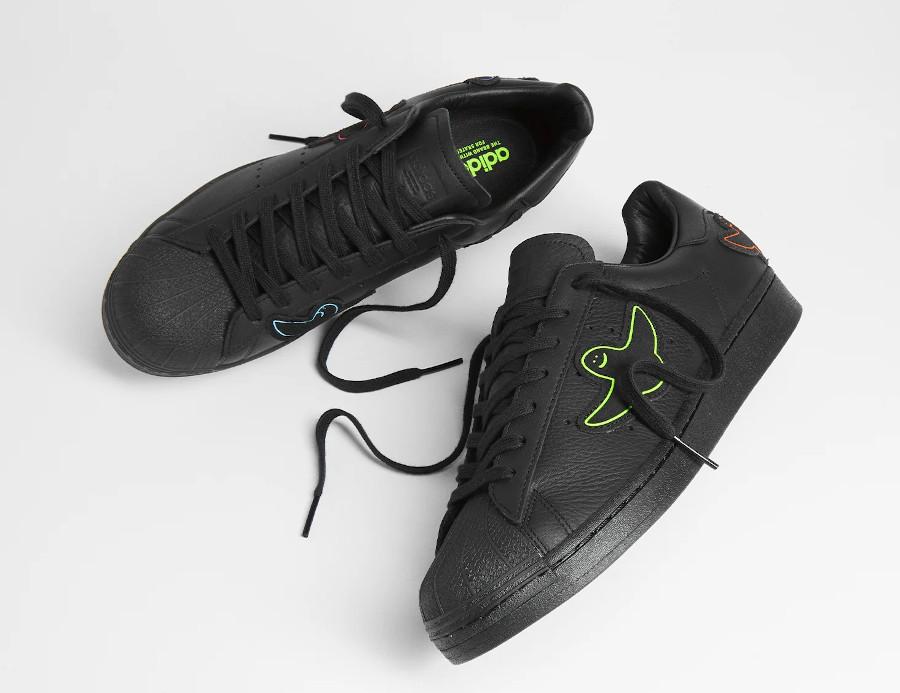 Adidas Superstar ADV X Gonz noire 2021 (1)