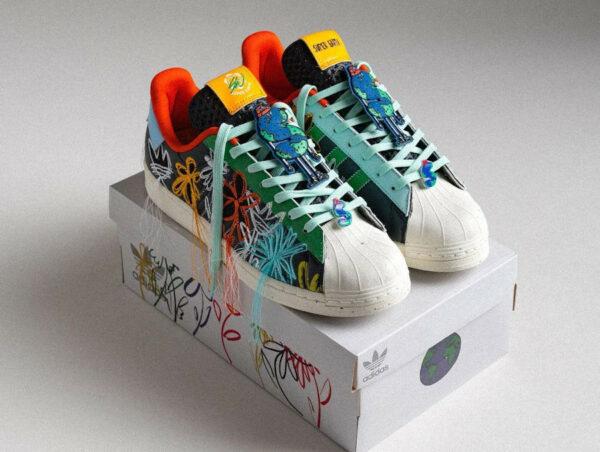 Adidas Superstar x SW SuperEarth Black Multicolor