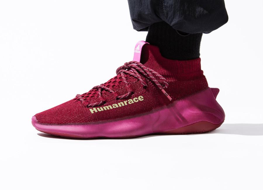Adidas x Pharrell HumanRace PW Burgundy Bordeaux GW4879