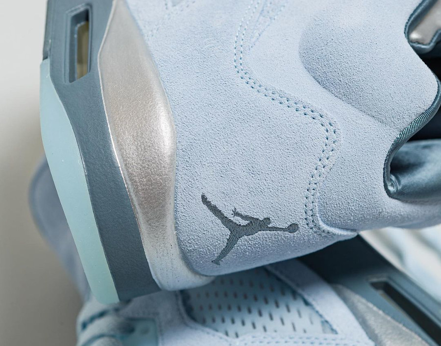 Air Jordan 5 Retro en nubuck bleu ciel (3)
