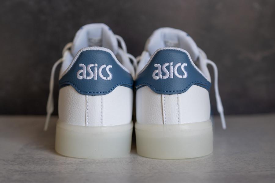 Asics Japan S blanche et bleue (semelle transparente) (4)
