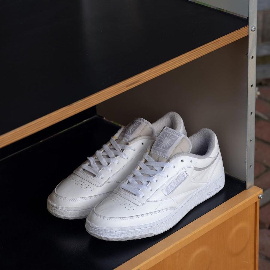 Eames x Reebok Club C Monotone Pack White (2)