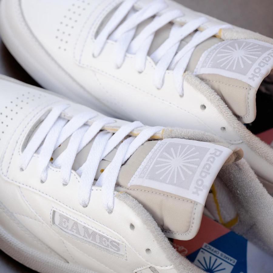 Eames x Reebok Club C Monotone Pack White (3)
