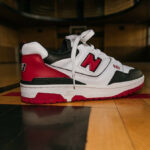 New Balance 550 White Team Red Black (Shifted Sport Pack)