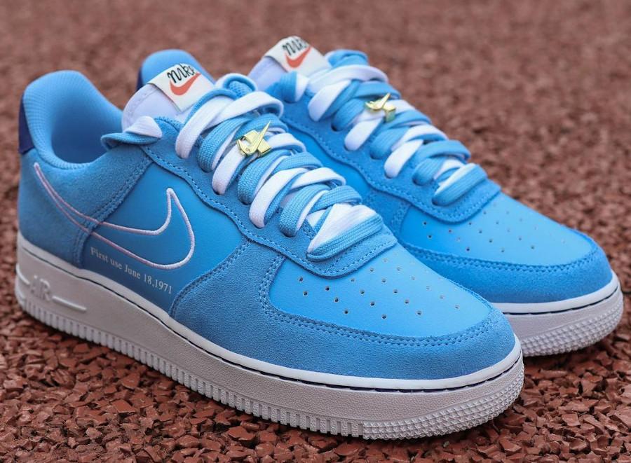 Nike AF1 Low '07 LV8 First Use June 18 University Blue