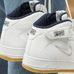 Nike Air Force 1 Mid Jewel NYC 'White Midnight Navy'
