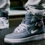 Nike Air Force 1 Mid QS Jewel 'NYC' Cool Grey