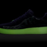 Nike Air Force 1 Purple Skeleton (Halloween 2021)