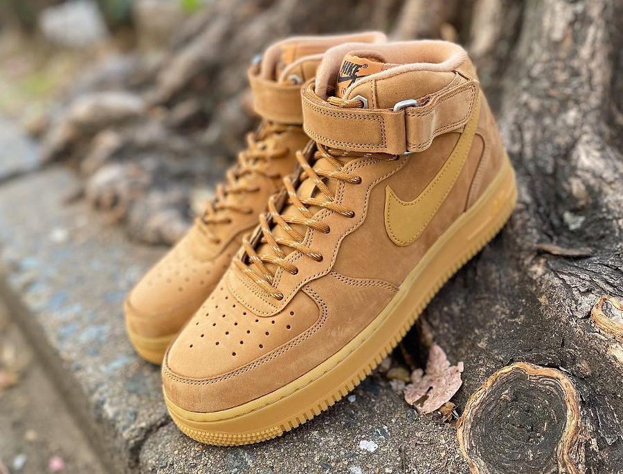 Nike Air Force 1 mi-montante Winter Boot blé (2)