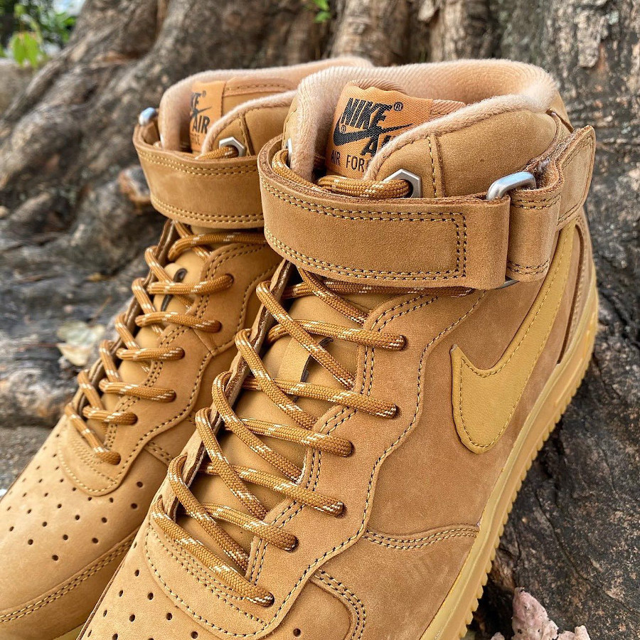 Nike Air Force 1 mi-montante Winter Boot blé (4)