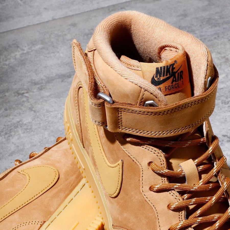 Nike Air Force 1 mi-montante Winter Boot blé (5)
