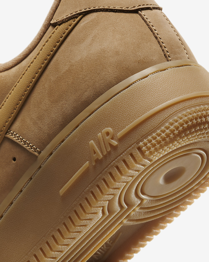 Nike Air Force One basse Work Boot marron gomme 21 (2)