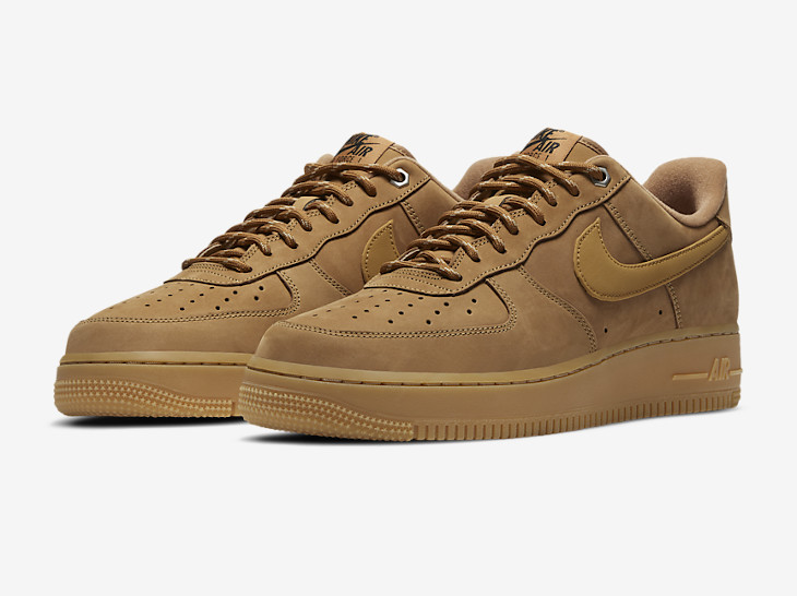 Nike Air Force One basse Work Boot marron gomme 21 (3)