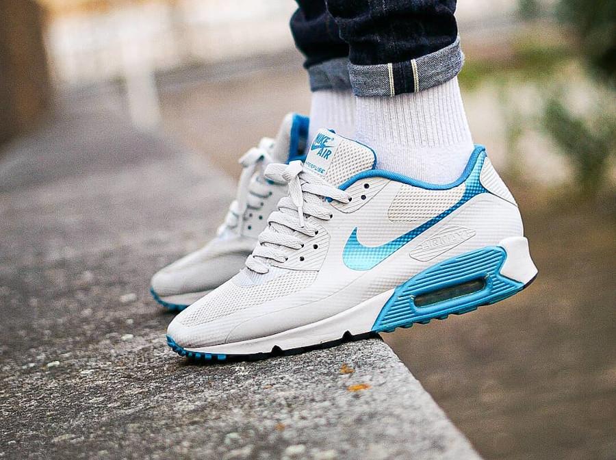Nike Air Max 90 Hyperfuse Blue White @airmaxbichler
