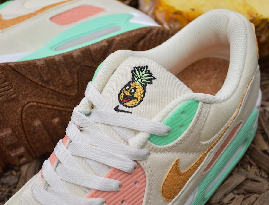 Nike Air Max 90 LX Happy Pineapple pas cher
