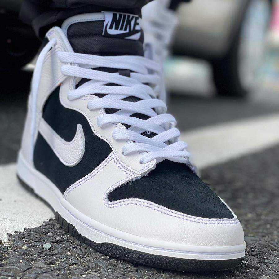 Nike Dunk High By You Black White @kwr1212