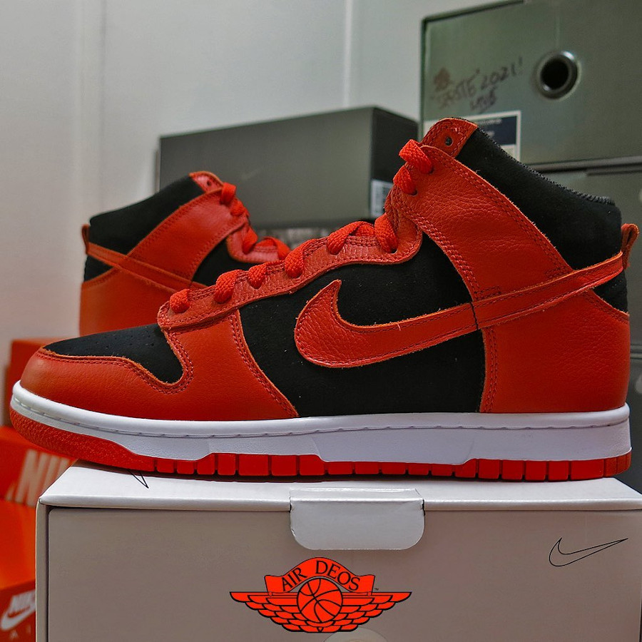 Nike Dunk High By You Bred @_deos_