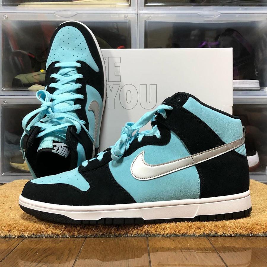 Nike Dunk High By You Diamond Supply Tiffany @zamaya_kicks