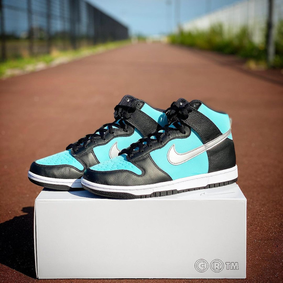 Nike Dunk High By You Diamond Supply Tiffany sequoia_haleiwa
