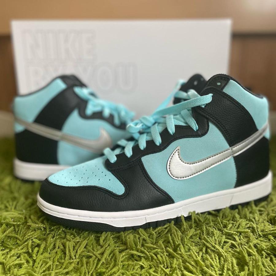 Nike Dunk High By You Diamond Supply Tiffany @starlight.kawashima