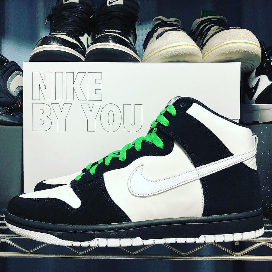 Nike Dunk High By You Jeff Staple Panda Pigeon @3080_snkrs