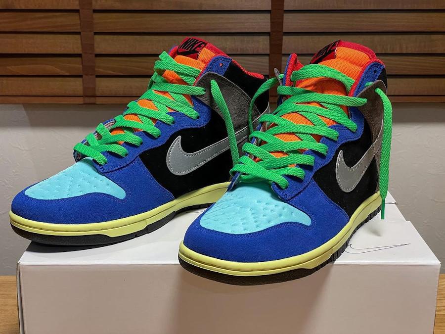 Nike Dunk High By You Tokyo Bio Hack sneakerbox.jp