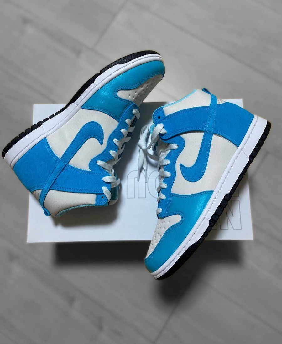 Nike Dunk High By You UNC @taichistyle72