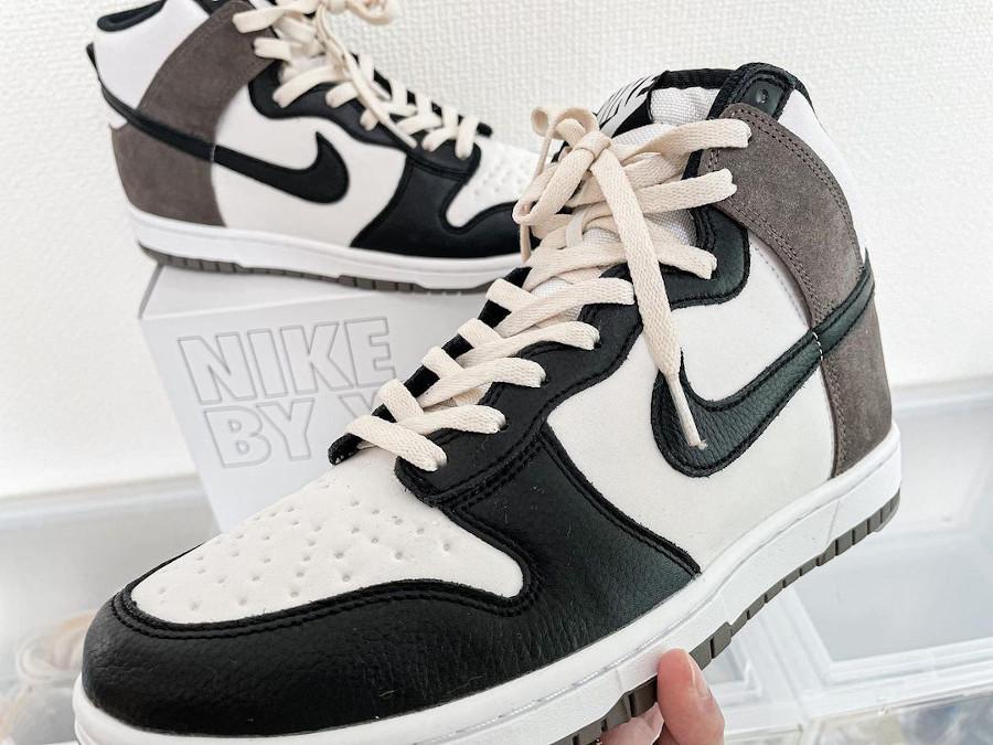 Nike Dunk High by You Dark Mocha @rsksy8729