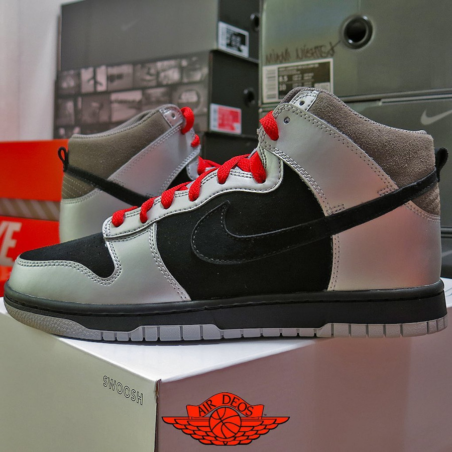 Nike Dunk High by You MF Doom @_deos_