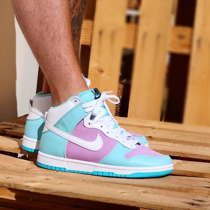 Nike Dunk High by You @egmoboi