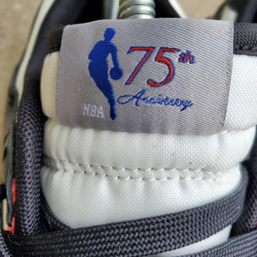 Nike Dunk Low 2021 blanche rouge et noire (2)