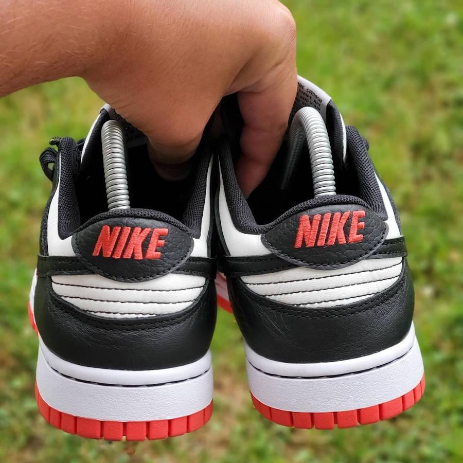 Nike Dunk Low 2021 blanche rouge et noire