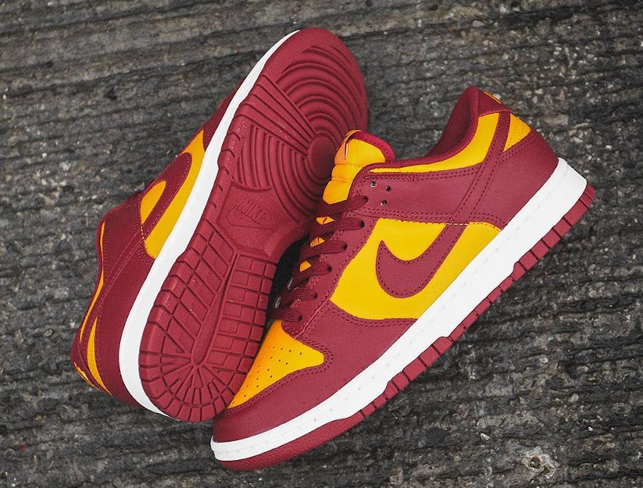 Nike Dunk Low Retro Midas Gold USC Trojans 2021 DD1391-701