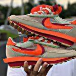 Comment portent-ils la Sacai x Clot x Nike LDWaffle 'Orange Blaze'