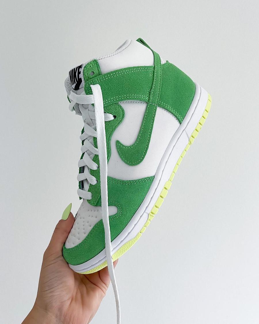 Nike Wmns Dunk High By You Shamrock Saint Patrick @sallyssneakers